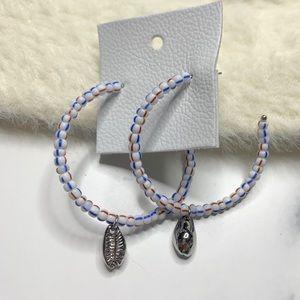 Free People Jewelry - Free People River Way Hoop Earrings